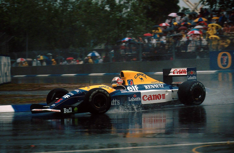 Mansell Campione del Mondo 1992